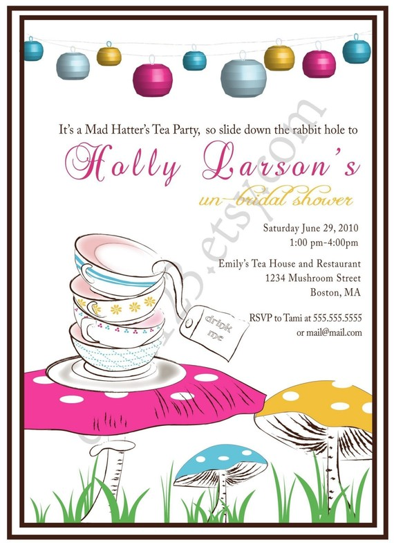 Argyle Tea Party Invitation Crafthubs – Ladies Tea Party Invitations
